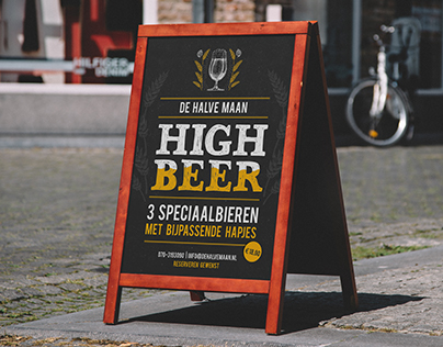 High Beer poster