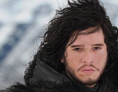Jon Snow | Digital Illustration
