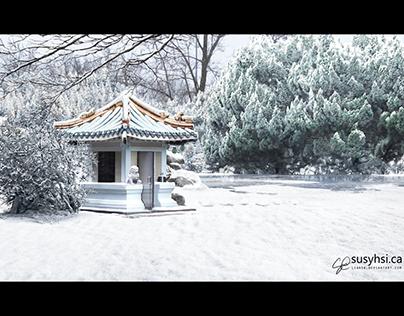 Snow Matte Painting