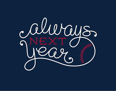 Always Next Year Animated Handlettering