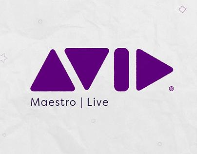 AVID MAESTRO LIVE - Video Explainer