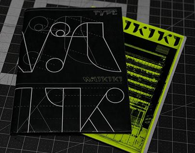 HYPERFUENTE WAIKIKI tipografia