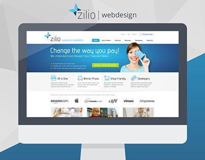 Zilio - webdesign
