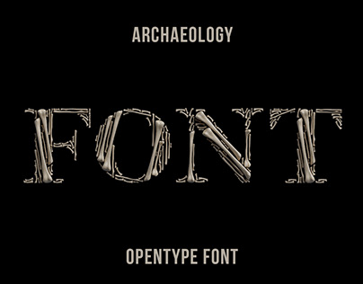 Archaeology Font
