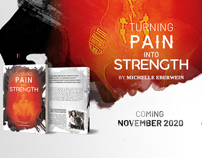 Turning Pain Into Strength - Book Cover Design