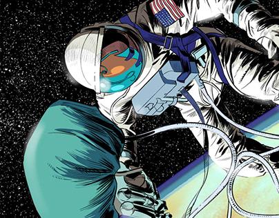 PBS webcomic: Spacewalk.