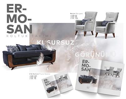 FURNITURE CATALOG DESIGN / Mobilya Katalog Tasarımı