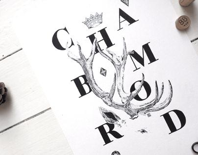 Le cerf du Château de Chambord