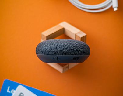 Google Home Mini - Product Photography