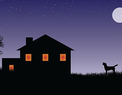 Night Light | Illustration | Illustrator art