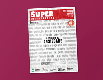 Capa Ansiedade Revista Superinteressante