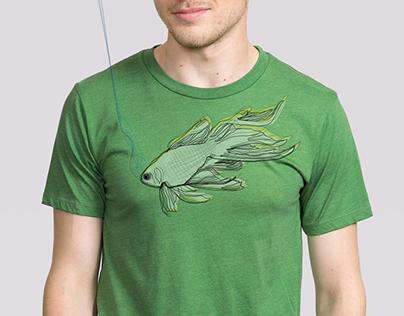 T-shirt & Illustrations «fish»