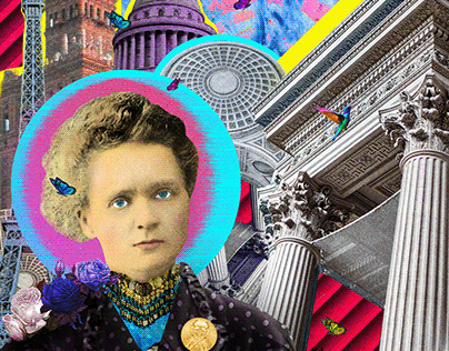 Marie Curie Collage