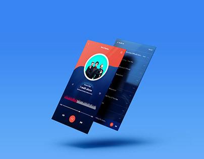 Music Apps Design Concept