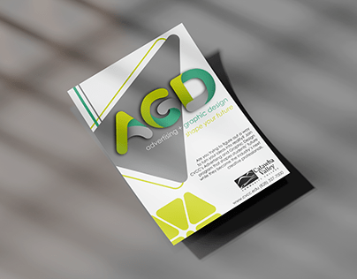 Advertising and Graphic Design Rebrand