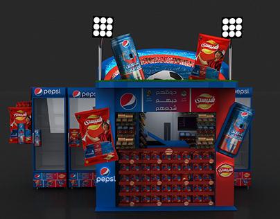 Pepsi & chipsy Kiosk