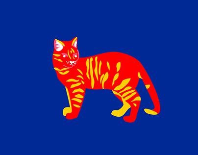 Kitty Cat Love   illustration