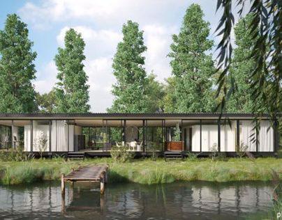 BARRES & COQUET Architectes / La Maison de verre
