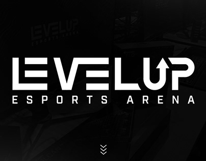 LEVEL UP Esports Arena - Official Brand Identity