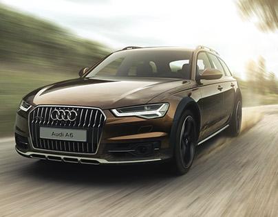 Audi A6 Allroad - VRED