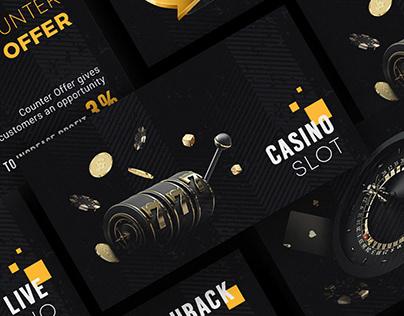 Online Casino Banners