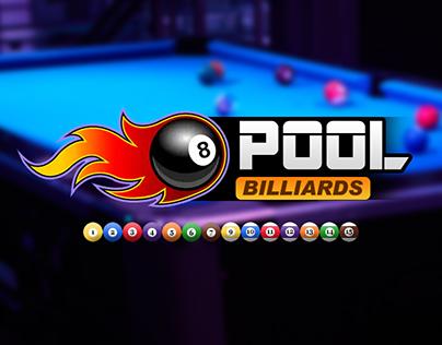 8 Ball Pool Billiard Game UI/UX Game Design