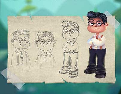 Character Designs - Teen Tycoon