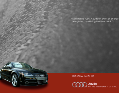 "Audi ""Adrenaline Rush"" Ads"