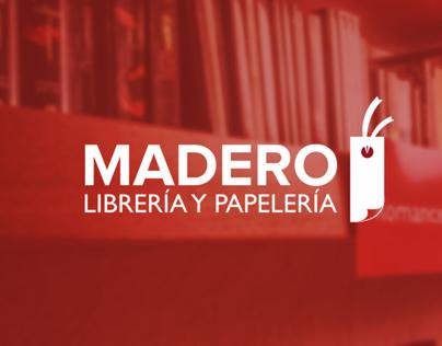 Librería y Palería Madero. Branding Re-Design.