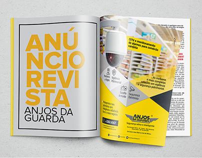 Anjos da Guarda - Anúncios de revista