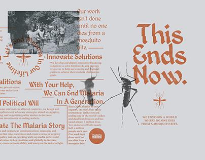 Malaria No More Brochure