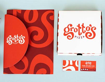 Restaurant Rebrand: Grotto Pizza