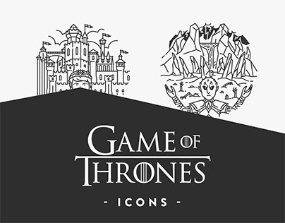 Game of Thrones — Line Art