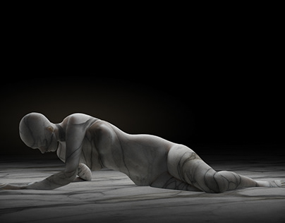 Marble Figure Studies (CGI)