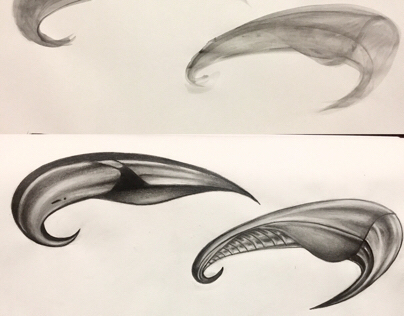 Vessel Concept sketches