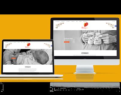 """Strona internetowa Fundacji Wspierania Rodziny """"Bliżej"""""""