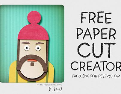 Free Paper Cut Portrait Creator