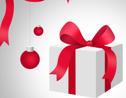 Christmas Card Elements PSD