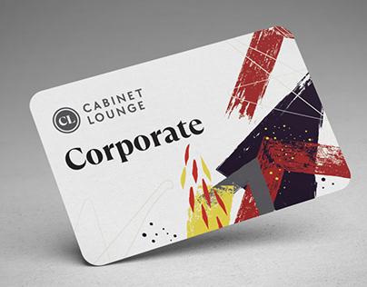 Cabinet Lounge - rebranding