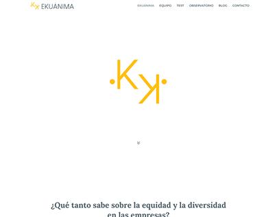 Sitio Web Institucional - EKUÁNIMA