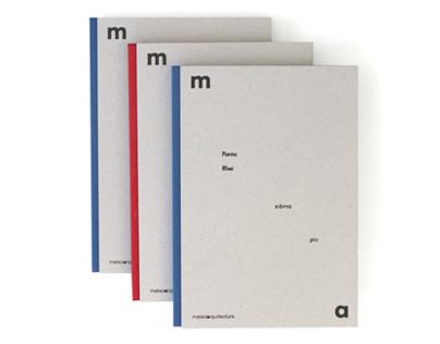 Mateo Architectura catalogues - Panta Rhei
