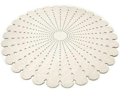 Barbara | woollen cut out carpet