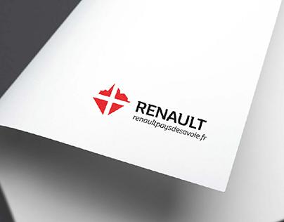 Logo Renault Pays de Savoie