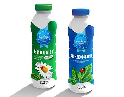 "Упаковка: Биолакт ""Кубарус-Молоко"""