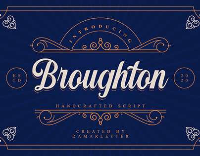 Broughton Handcrafted Script