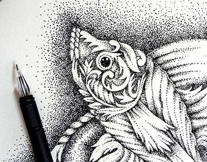 Pen Drop Art 01.