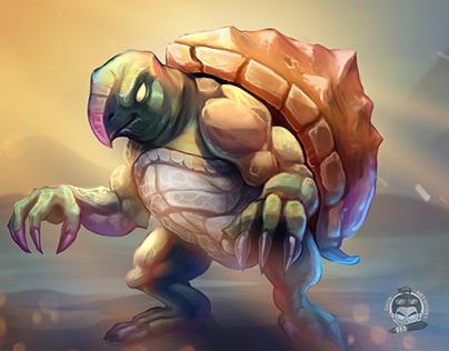 Monster Tortoise concept art