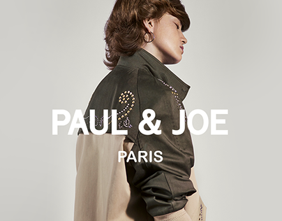 PAUL & JOE - Website - Redesign - OnLine