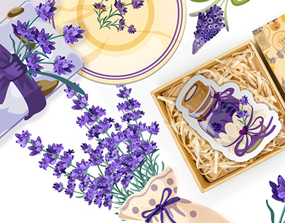 Provence Style Pattern Collection