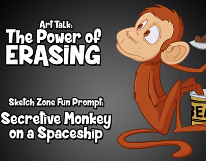 Sketch Zone Fun Prompt: Secretive Monkey Spaceship